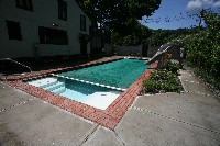 Luxor Deep Fiberglass Pool in Gladeville, TN